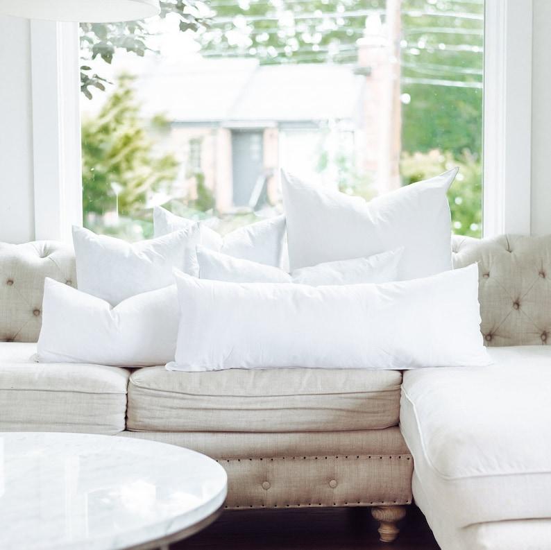 Premium Down Alternative Pillow Insert  20 x 20 Pillow Insert image 1