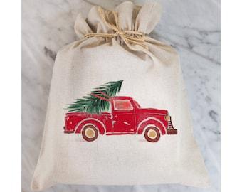 Truck Gift Bag // Gift Wrap // Packaging // Present // Party Favor // Gift Bag // Hostess Gift