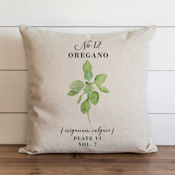 Botanical Pillow Cover