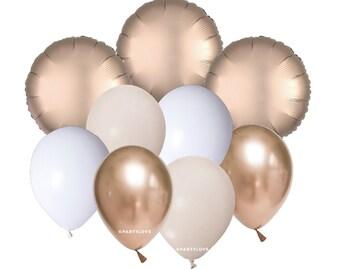 Rose Gold Balloon Bouquet (9 Pack) CH2