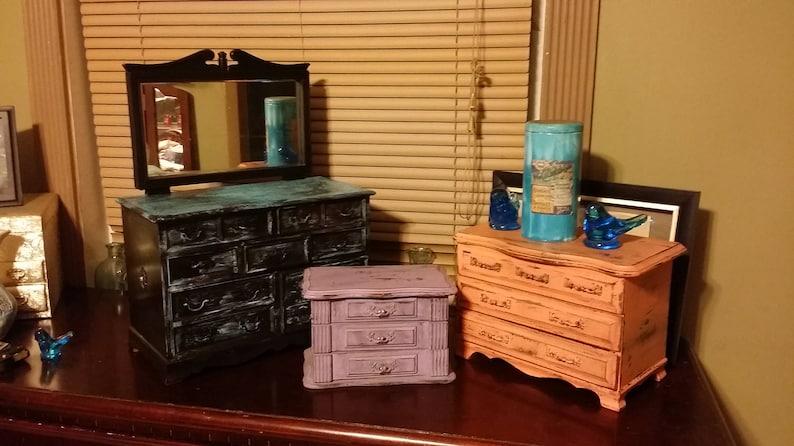 Trinket Ladies Box Small Purple Jewelry box Jewelry Vintage Storage Vintage Gift for her Valentines day Purple Wood