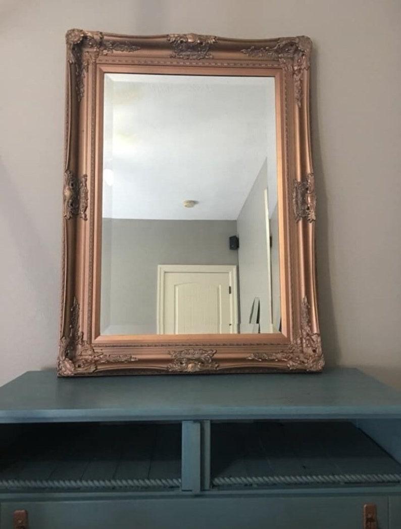 Entertainment center tv stand dresser mirror