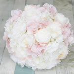 Custom Private Order for Chrissy Badeaux - Blush Wedding Flower Order - Match Previous Sample