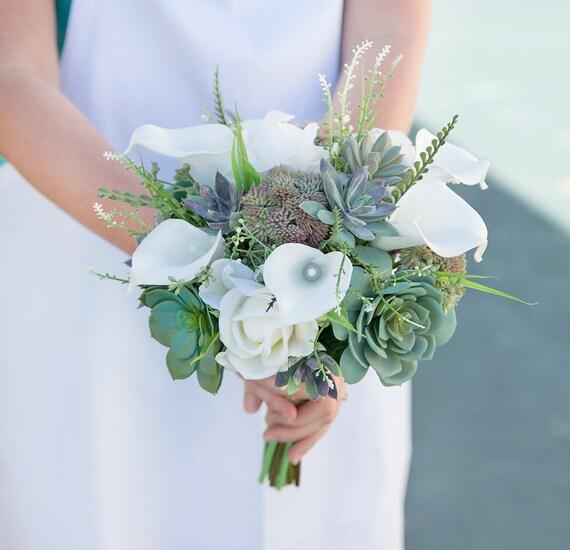 ideas for flower vase fillers with natural green flower.htm succulent bouquet wedding bouquet silk wedding bouquets etsy  succulent bouquet wedding bouquet silk