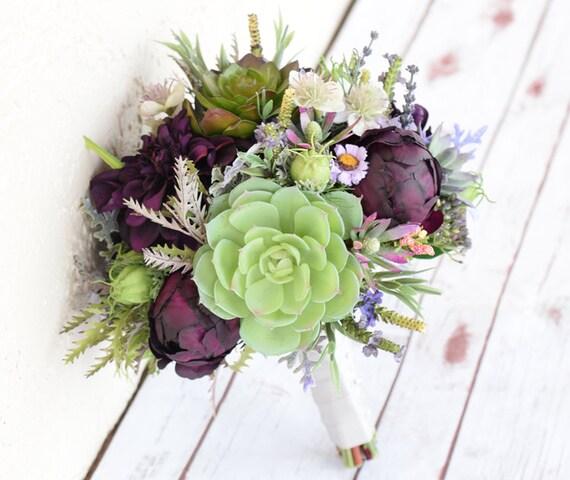 ideas for flower vase fillers with natural green flower.htm edding bouquet succulent bouquet silk wedding bouquets real etsy  succulent bouquet silk wedding bouquets