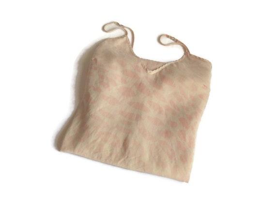 silk lingerie slip dress organic silk Vintage slee