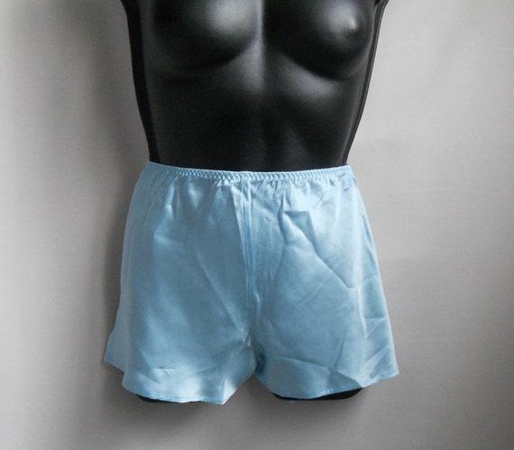 Turquoise silk pajama XS Women sleepwear slip top… - image 4