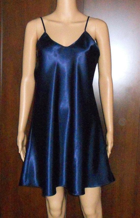 satin slip dress XL silk underwear top Vintage wo… - image 6
