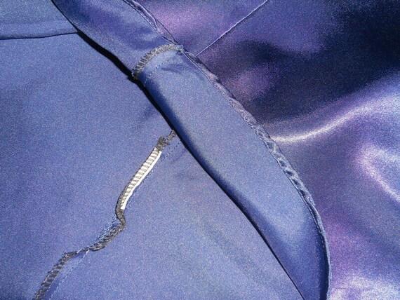 satin slip dress XL silk underwear top Vintage wo… - image 8