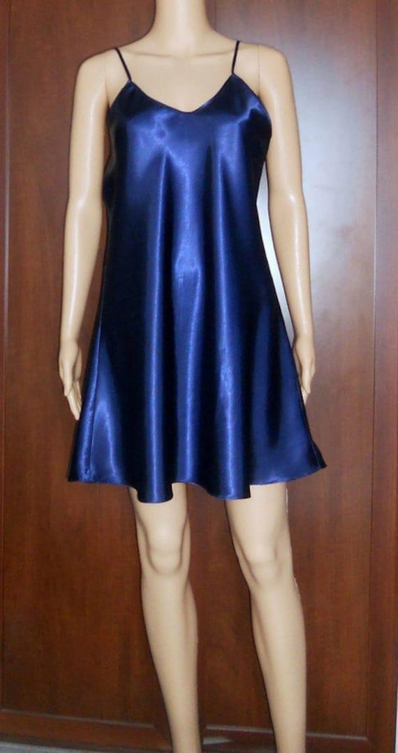 satin slip dress XL silk underwear top Vintage wo… - image 3