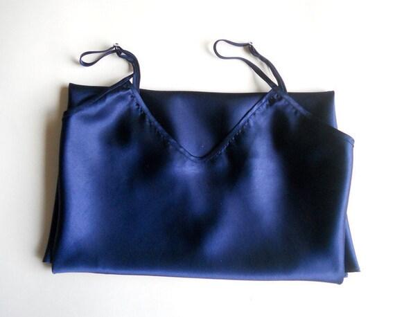 satin slip dress XL silk underwear top Vintage wo… - image 7