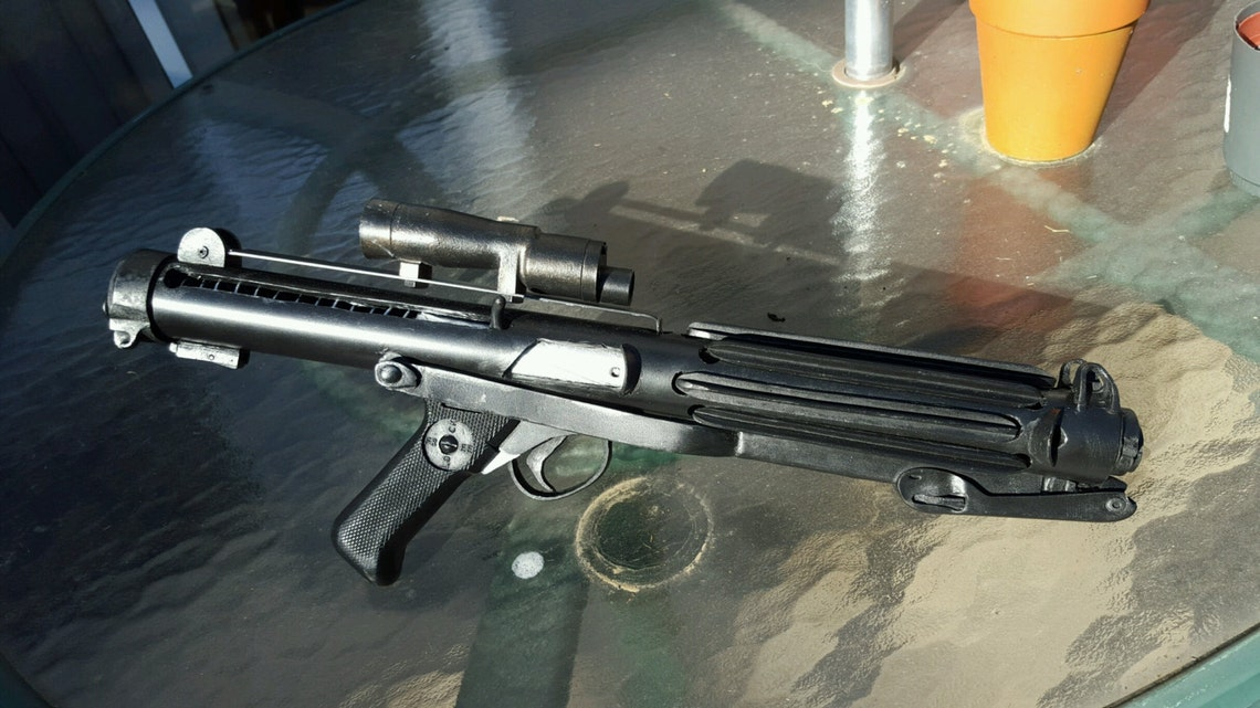 Stormtrooper E-11 Blaster Prop Han Solo ANH Hero image 0