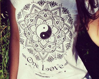 Yoga t-shirt - Mandala