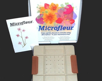 "Microfleur Max 5"" (13 cm) Microwave Flower Press"