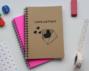 Love Letters - 5 x 7 journal