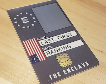 Enclave ID card
