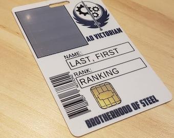 Brotherhood of Steel ID card