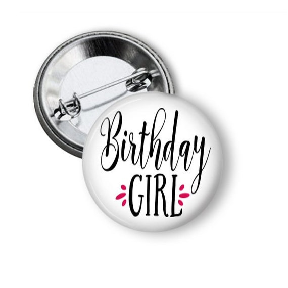 Birthday Girl Pins Gift For Gifts Under 5