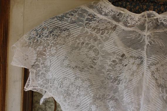 Divine Antique lace cami, corset cover, crop top,… - image 3