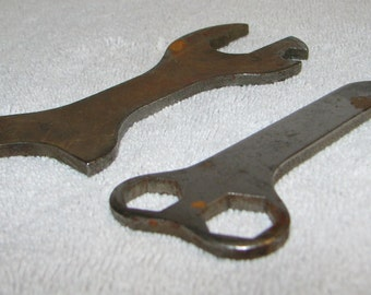 Pair of Vintage Bicycle (?) Wrenches