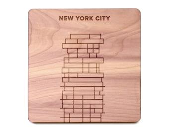 New York City Coaster - 56 Leonard