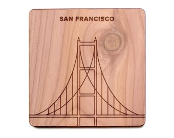San Francisco Coaster - Golden Gate Bridge