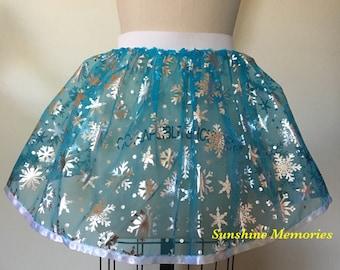 Snow Queen Running Skirt