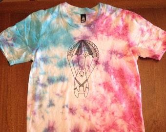 Parachute Bear Tie dye T-shirt