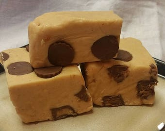 Peanut Butter Cup Fudge Homemade Fudge Peanut Butter Fudge 1 pound of Peanut Butter Cup Fudge