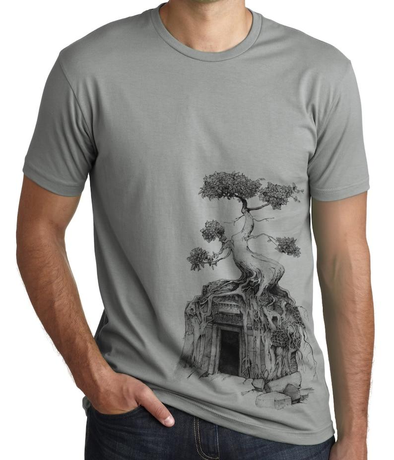 ad5b2c29 Angkor Wat T Shirt Bodhi Tree Shirt Spiritual shirt | Etsy