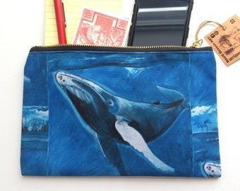 washable makeup bag printed storage pouch travel pocket pencil case durable carrying case Studio Pouch  City landscape