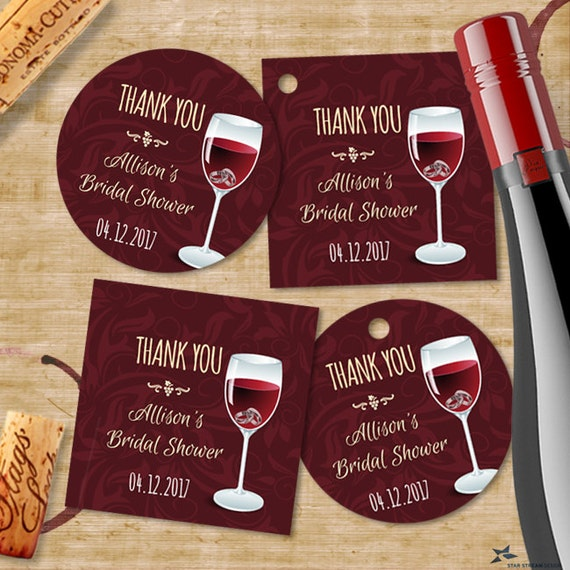 photo relating to Printable Wine Glass Tags titled Printable Rings inside of Wine Gl Bridal Marriage Shower Get together