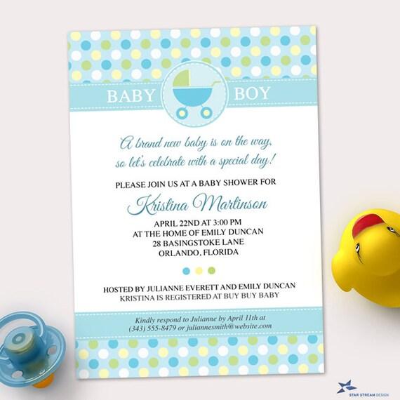 polka dots invitations templates