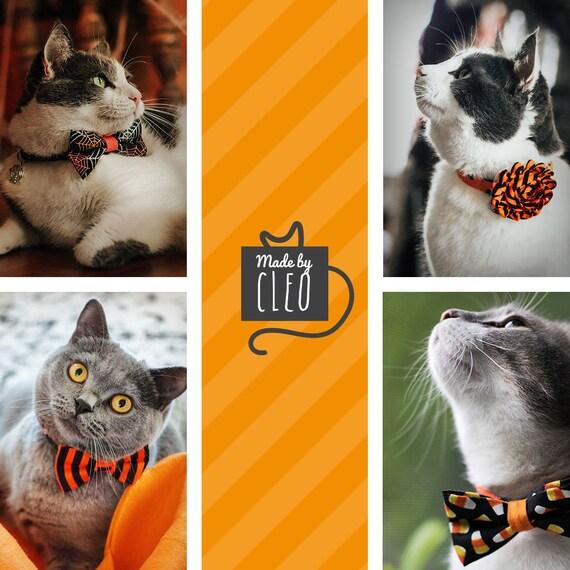 Halloween Cat Bow Tie