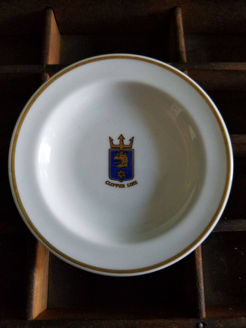 Clipper Line Butter Pat Plate Marked Rorstrand Sveirge 572 Etsy
