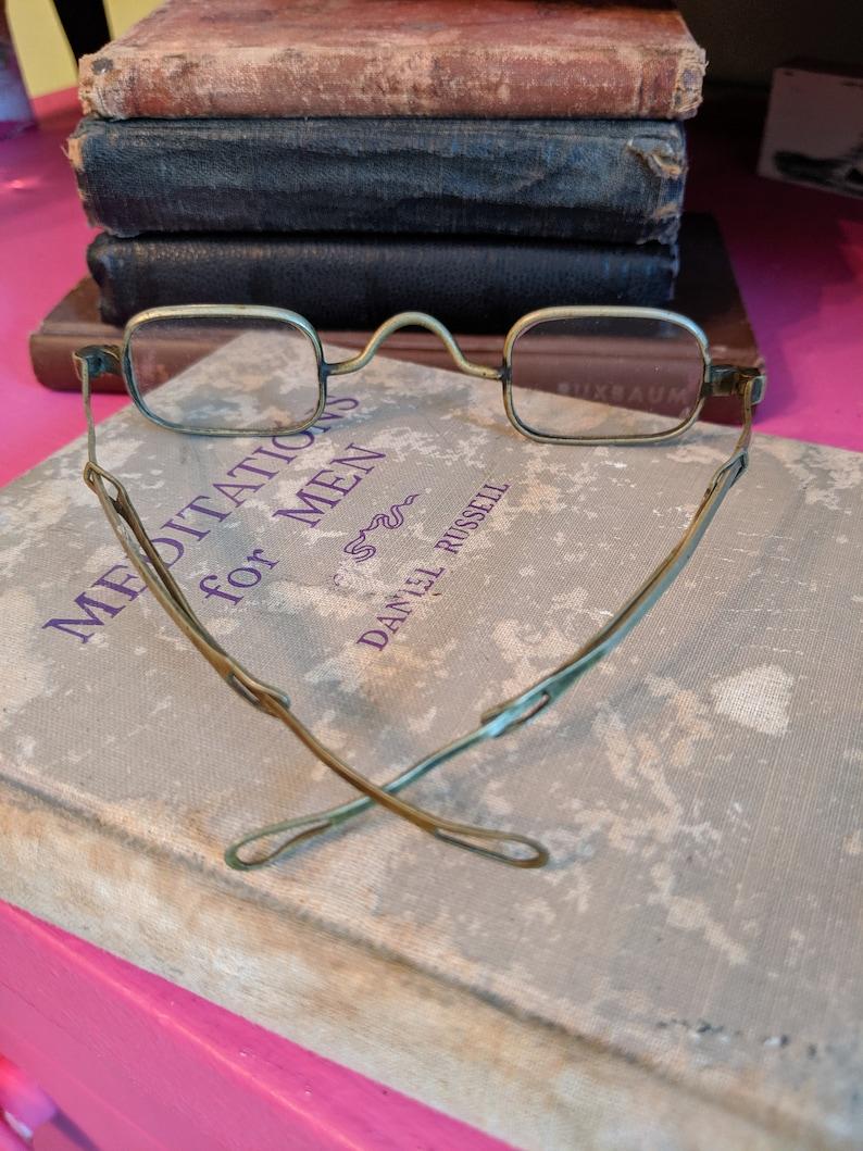 Antique Wire Rim Reading Glasses