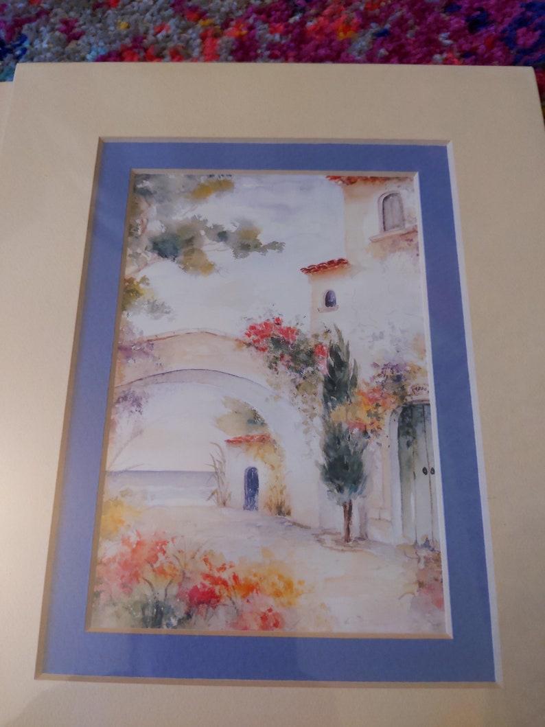 Vintage French Lithograph Prints