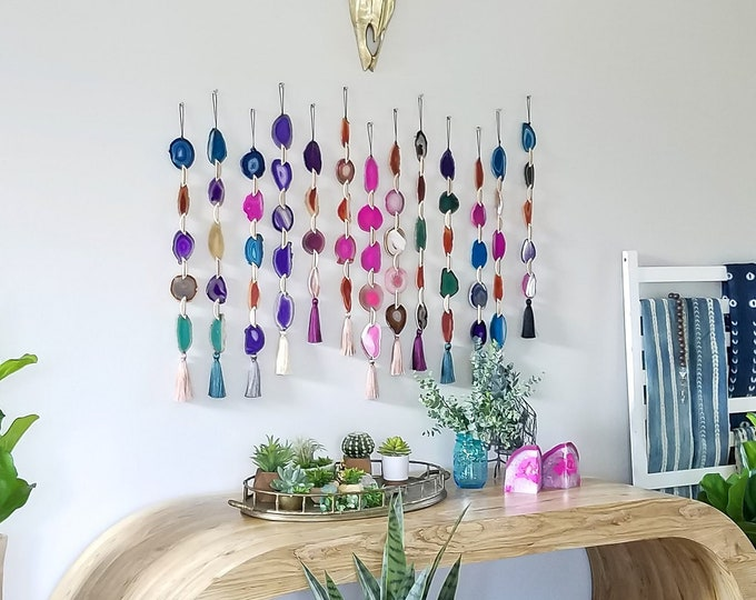 Featured listing image: Choose Your Agate Garland | Made to Order