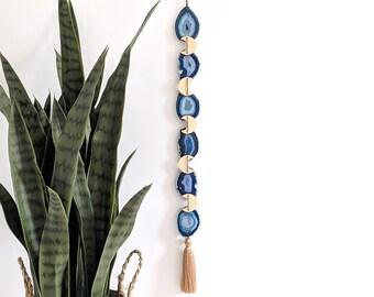 Blue Agate Boho Garland | 6-Piece Length