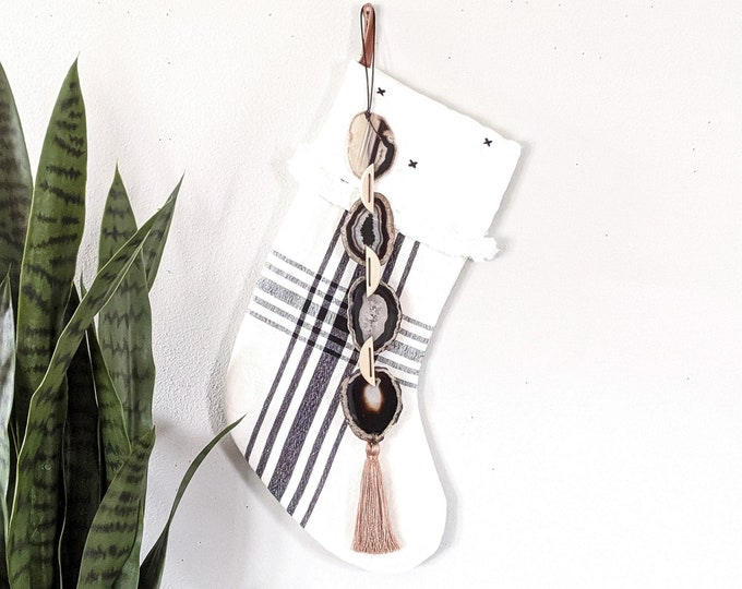 Lava Agate Garland Wall Hanging