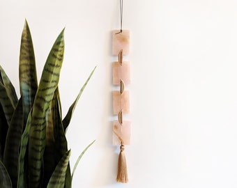 Rose Quartz Garland