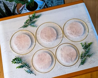 Choose Your Rose Quartz Wall Hanging | Made to Order