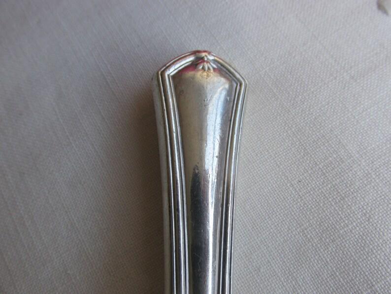 Cold Meat Fork Vintage Meat Fork with Sterling Silver Handle