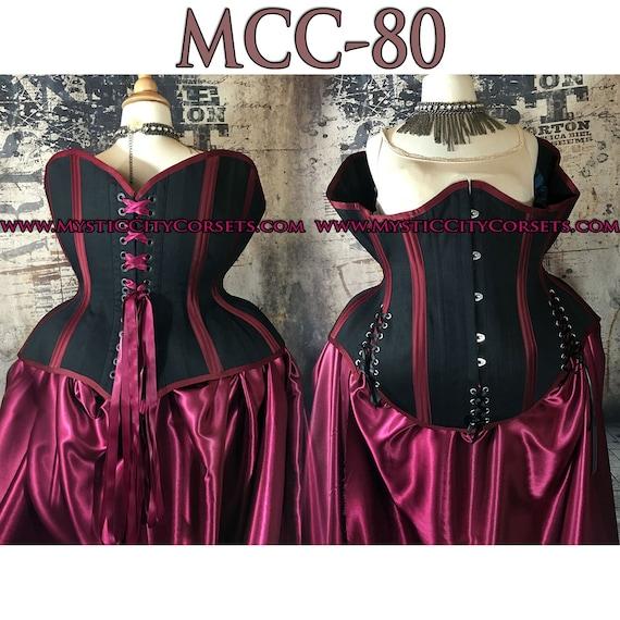 2c1a64e4e17 New MCC-80 plus size 2X 3X 4X 5X 6X 7X corset cotton underbust