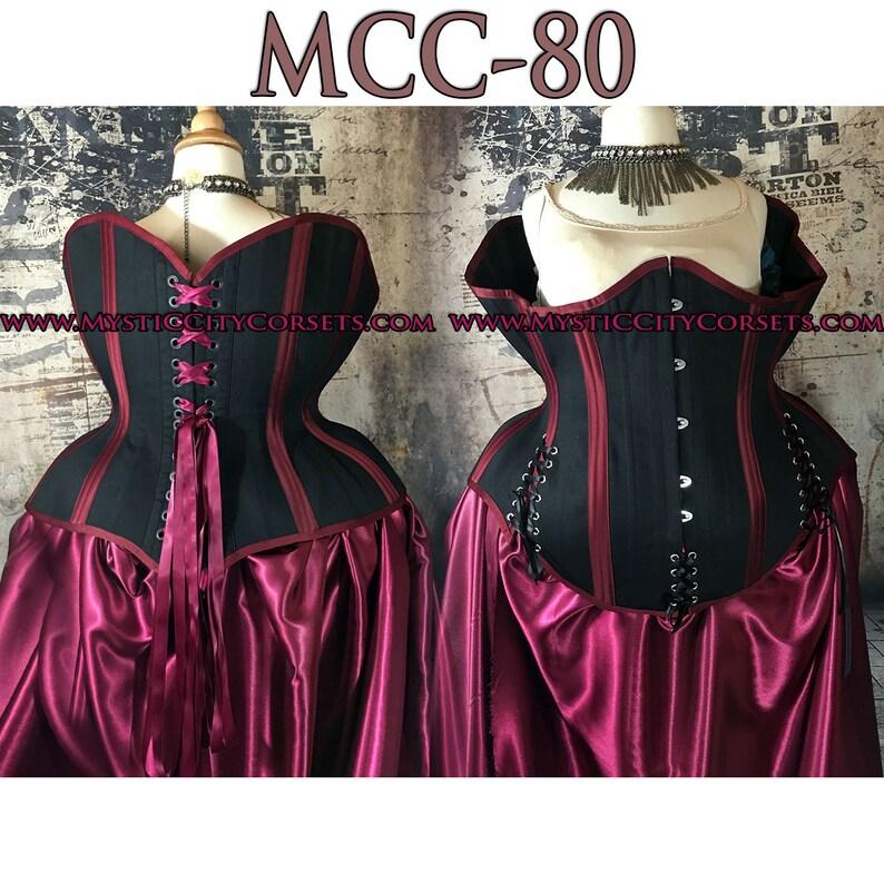 e0c783676 New MCC-80 plus size 2X 3X 4X 5X 6X 7X corset cotton underbust