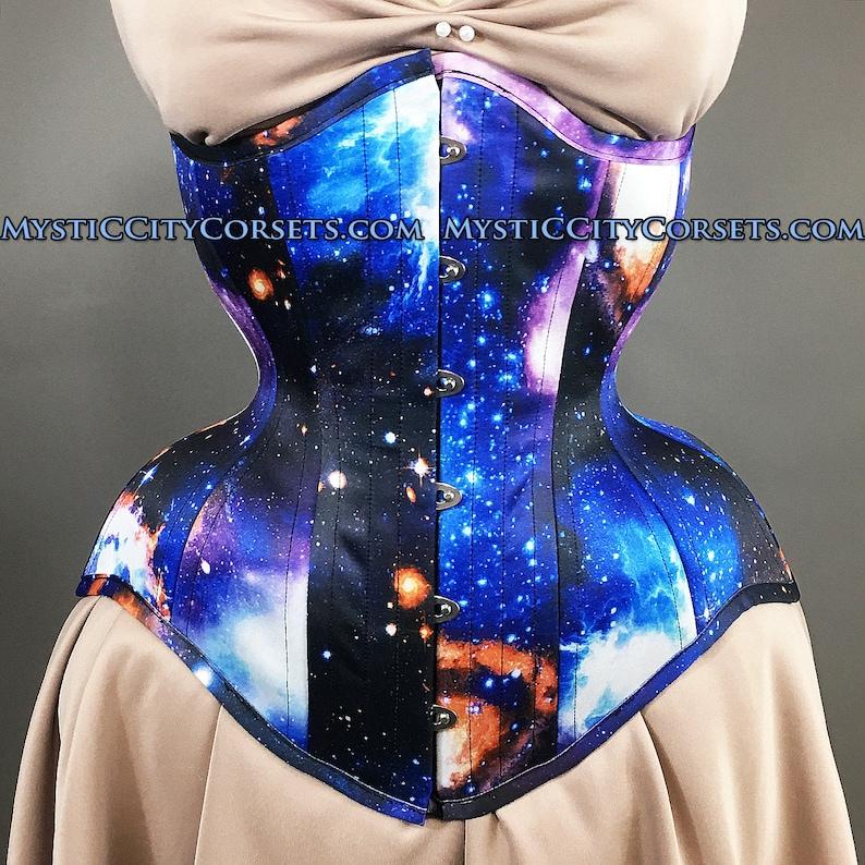 77c2d7f2628 MCC-112 Anti-Muffin long torso Galaxy Satin