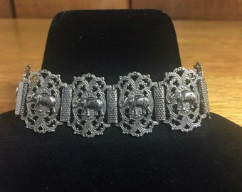 Vintage Elephant Bracelet