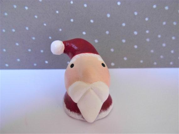 Petit père Noël victorien Fat Vintage rouge Miniature à la  1be146e5be4