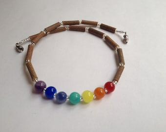 Hazelwood chakra necklace for children