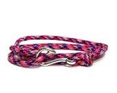 Country Girl Camo Adjustable Double Wrap Paracord Men Women Unisex Nautical Round Fish Hook Bracelet - Anklets - Best Paracord Bracelet